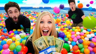 Last to Leave Ball Pit Pool wins $10,000! - Challenge