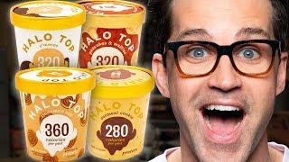 Halo Top Ice Cream Taste Test