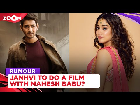 Janhvi Kapoor to make her Tollywood debut with Mahesh Babu in SSMB 28?