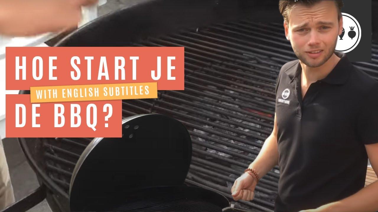 Hoe start je de BBQ? Maak je barbecue BBQproof!