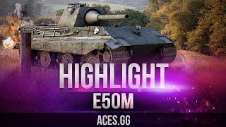 E 50 Ausf. M тащит катку в World of Tanks на Лайв ОКС!