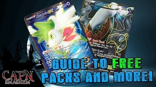 Pokemon TCGO Free Packs and MORE! Trading Guide For Beginners.