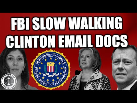 NEW Strzok-Page Emails Dispute Hillary Clinton's Claim on Sending/Receiving Classified Material!