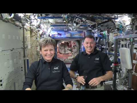 Space Station Crew Discusses Life in Space with Fo…