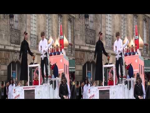Le Carnaval des Deux Rives Bordeaux 2012 (04/03/2012)