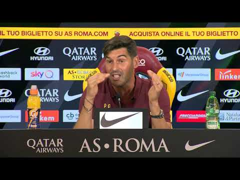 VIDEO - Roma-Atalanta, Fonseca: