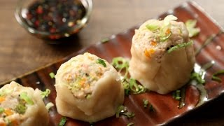 Chicken Dim Sum Recipe | How To Make Chicken Momos | The Bombay Chef - Varun Inamdar