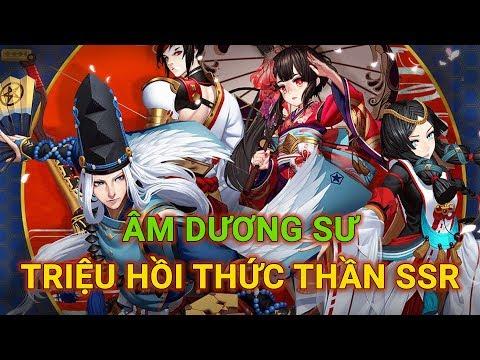 Âm Dương Sư - Hướng dẫn triệu hồi thức thần SSR