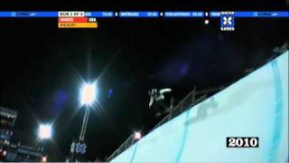 Shaun White wins Gold at Winter X Games 14