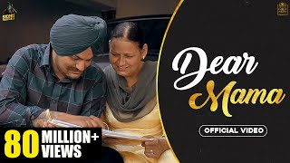 Dear Mama – Sidhu Moose Wala Video HD