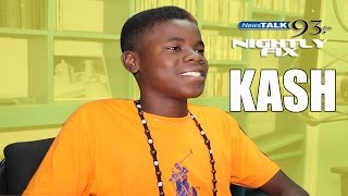 You Heard It Here 1st: 14 yr old singer Kash @NightlyFix