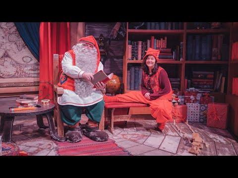 Santa Claus sent us greetings from Santa Claus Office