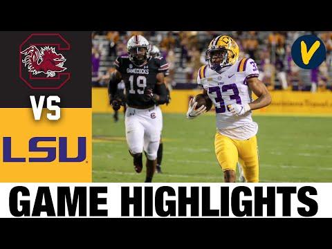 South Carolina vs LSU Highlights | Week 8 2020 College Football Highlights