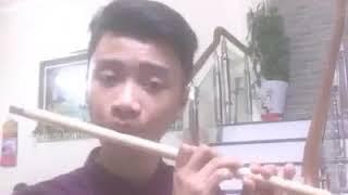 Chào Em Cô Gái Lam Hồng ( Sáo Trúc ) - Nguyễn Đức Thắng