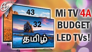 Xiaomi Mi TV 4A Rs.13999 முதல் - 43 மற்றும் 32 Inches (தமிழ் |Tamil)