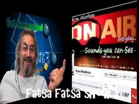 Fatsa Fatsa Tv Show Rizo Balic (Play Lists) Mark Lozier with Kim Nicolaou