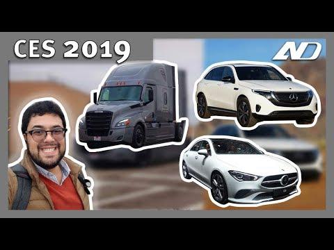 Conocí el nuevo Mercedes Benz CLA 2020 y manejé un trailer! - Vlog CES 2019