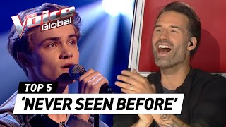 AMAZING Blind Auditions in The Voice you've never seen before [#3]