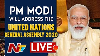 PM Narendra Modi addresses the United Nations General Asse..