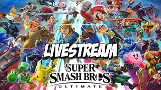 Super Smash Bros. Ultimate Livestream - Nintendo Switch 12/9/18