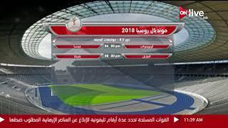 مواعيد مباريات اليوم في كأس العالم .. الجمعة 6 يوليو 2018     -