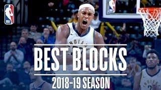 Myles Turner's Best Blocks   2018-19 Season   #NBABlockWeek