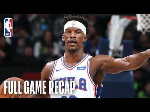 76ERS vs TIMBERWOLVES | Philadelphia's Starters Score In Double-Figures | March 30, 2019