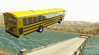Epic High Speed Jumps #2 - BeamNG.drive