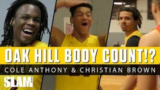 Cole Anthony & Oak Hill BODY COUNT Rises! 😱💀 Who Had Best Poster Dunk!?