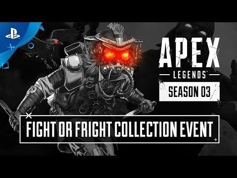 Apex Legends - Trailer do Evento de Coleção Luta ou Fuga | PS4