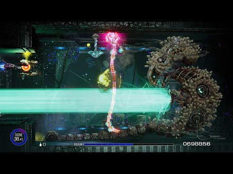 R-Type Final 2 (PS4) - Homage Stages | Season Pass DLCs 1-3 | Longplay 1cc