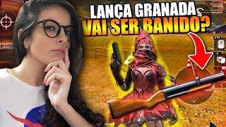ELE VAI SER BANIDO?! O LANCA GRANADAS MAIS ODIADO E AMADO DO FREE FIRE