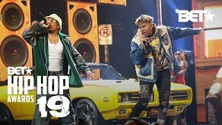 """YBN Cordae & Anderson .PAAK Bring The Funk In """"RNP"""" Performance!   Hip Hop Awards '19"""