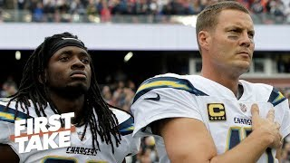 Can the Chargers afford to lose Melvin Gordon with aging QB Philip Rivers?   First Take