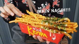 PANJANG BESAR & BIKIN NAGIH!!!  KENPA JAPANESE LONG FRIES | PONTIANAK STREET FOOD
