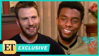 Chris Evans Praises Chadwick Boseman in 'Black Panther' (Exclusive)