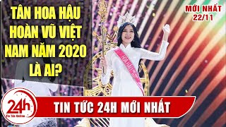 Đỗ Thị Hà Đăng Quang Hoa Hậu Việt Nam 2020 tại đêm chung kết Hoa Hậu Việt Nam
