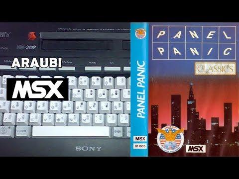 Panel Panic (Bytebusters, 1986) MSX [668] Walkthrough