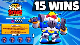 15 WIN Crazy August Championship Challenge Run! BEST Brawlers & Comp For Every Mode!