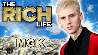 MGK | The Rich Life | Flies Private on Air Diablo, Million Dollar Mansion & More