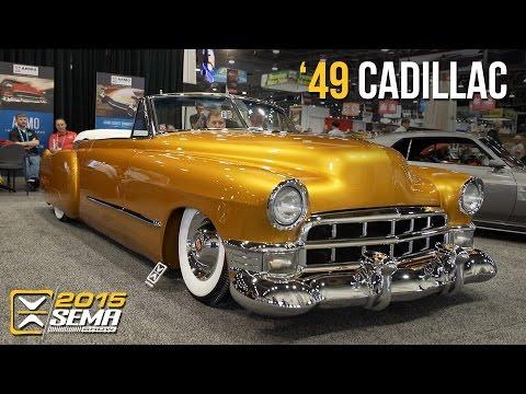 SEMA 2015   1949 Cadillac Convertible   Ryans Rod and Kustom