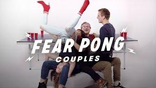 Couples Play Fear Pong (Analisa & Aaron vs. Ian & Makaela)   Fear Pong   Cut