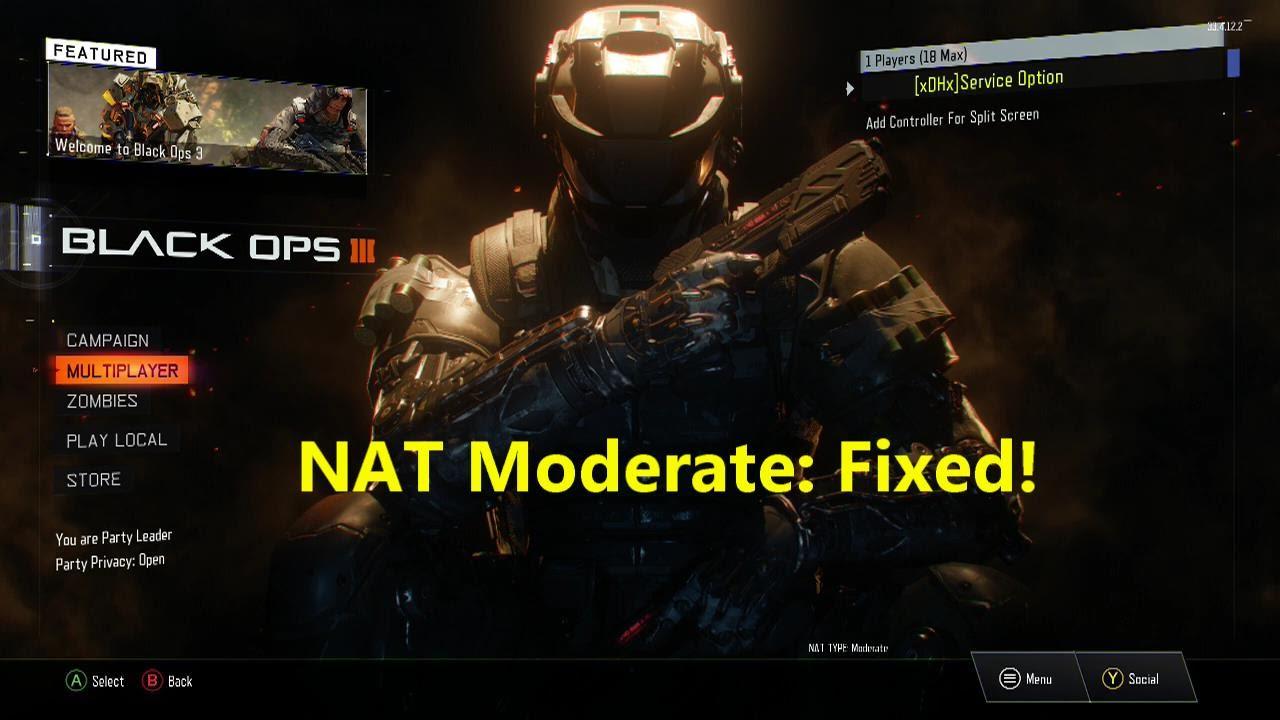 Nat Type Moderate Black Ops 3 Beta