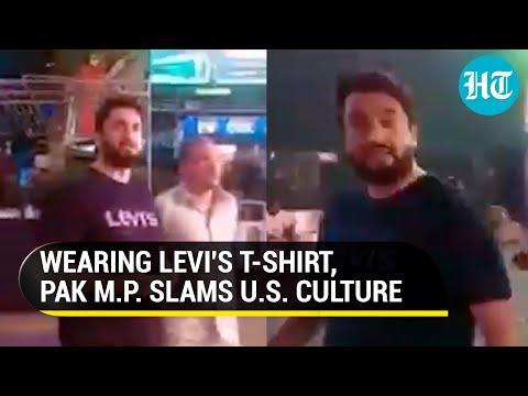 Pakistan MP's video in New York shaming American women invites ire of social media