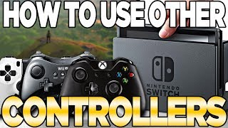 how to connect wii u pro controller to steam link