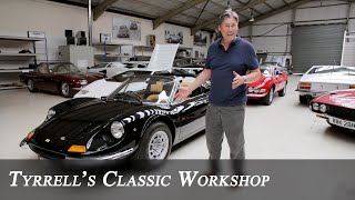 Ferrari Dino 246 GTS - the other half of the Dino story  | Tyrrell's Classic Workshop