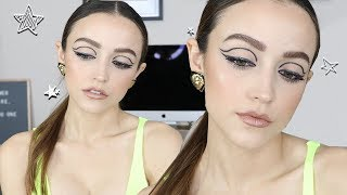 Olivia Culpo Inspired Makeup Look | Glitter Liner