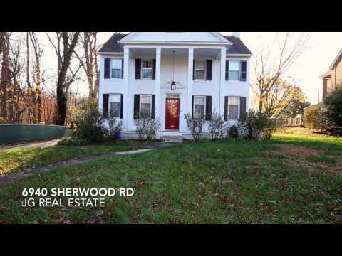 6940 Sherwood Rd: Stunning 1920's Home  New Kitchen, Hardwoods, Yard