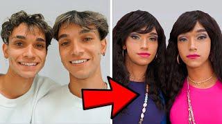 Transforming Into Twin Girls