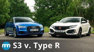 2019 Honda Civic Type R v. 2019 Audi S3! New Motoring